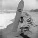 Obert Rod a szörfdeszkájával