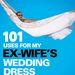 Exfeleségem esküvői ruhája újrahasznosításának 101 módja – ez a könyvborító