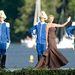 Charlene monacói hercegnő is ott volt a svéd esküvőn. A meghívotak közt a Duran Duran is szerepelt.