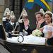 Lovaskocsin hajtottak keresztül Stockholmon.  Az esküvő után a pár vissza fog utazni a pár New Yorkba, ahol tovább dolgoznak, O'Neill nem is kap hercegi címet.