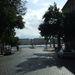 A mellékutcákon sem lehet kijutni a Dunához (a képen a Halász utca).