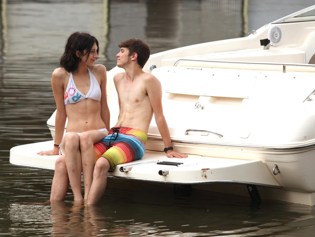 Andrews és Hill együtt élvezik a nyári vakációt