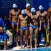 A görög csapat az edzőt hallgatja