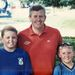 11 évesen egy dubaji golfversenyen: itt kifejezetten jó súlyban lévő fiú volt.