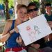 Laura és Bálint, Magyarország – szintén egymást rajzolták