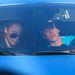 Bieberrel autóztak