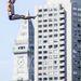 Az amerikai Kent De Mond a 27 és fél méteres magasság egy részét már megtette