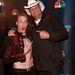 Timber Brown akrobata az America's Got Talent eseményén egy másik versenyzővel a műsorból, Marty Brownnal