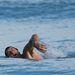 Michael Barlow úszással kezdi a sajtótájékoztatót
