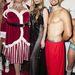 A fiúk karácsonyi hangulatban Christina Futton színésznővel