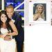 A bal oldalon az igazi esküvő, a jobbon a fotó, amit a menyasszony a Pinteresten kiválaszott – a frizura és a ruha például stimmel