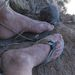 Szerencséje volt: kis kiegészítéssel egész használható papucsot vetett partra a víz