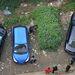 Így néz ki felülnézetből a csengdui zöld autó.