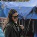 Demi Moore Indiában járt egy buddhista konferencián.