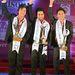 Bishwo Raj Adhikari látható középen, ő nyerte a versenyt. A második helyezett tőle balra látható, Anup Shresthának hívják, Rahul Shrestha pedig harmadik lett