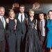 Az éhezők viadala: Futótűz stábja a november 15-i, párizsi premieren, balró jobbra: Francis Lawrence rendező, Elizabeth Banks, Liam Hemsworth, Jennifer Lawrence, Josh Hutchersonszínészek és Nina Jacobson producer.