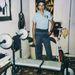 Maritza, a későbbi Mark 1986-ban – már ekkor is szerette a testépítést