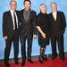Bob Roth, Hugh Jackman, Deborra-Lee Furness és David Lynch a David Lynch Alapítvány 5. gáláján New Yorkban. (2013. december 3.)
