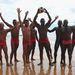 Ők a Costa do Sauipe strand vízimentői, a fenekükre rá is van írva, hogy Salva Vidas