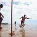 Megy nagyban a strandfoci