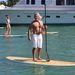 Bobby Dekeyser evezget egyet Miamiben az óceánon