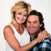 6. Goldie Hawn és Kurt Rusell – egyik első közös fotójuk, 1987-ből. Azóta sem házasodtak össze, de még mindig együtt vannak