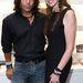 Ez is idei fotó, Richard Grieco egy Michelle Pangborn nevű nővel egy jótékonysági eseményen
