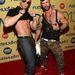 Trenton Ducati és Adam Killian a 2013-as XBIZ Awardson Los Angelesben. Igen, szakmájukra nézve melegpornósok a fiatalemberek