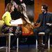 Keanu Reeves az NBC stúdiójában, New Yorkban.