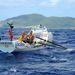 Mike Burton és Tom Salt ebben a hajóban evezte át az Atlanti-óceán