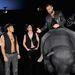 Philipp Plein felült a műbikára a divatbemutató utáni afterpartin