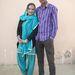 Makesh Kumar és Adriana Peral – szemmel láthatóan boldogok