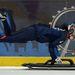 Shelley Rudman az Egyesült Királyság egyik skeletonversenyzője Sheffieldben készül az olimpiára január 29-én