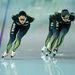 A japán gyorskorcsolyázók Szocsiban gyakorolnak január 31-én