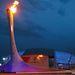 Az olimpiai láng próbagyújtása
