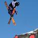 A francia Antoine Adelisse az olimpia előtt néhány nappal az SFR Freestyle Tour Val Thorens-i versenyén gyakorolt az olimpiára