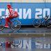 Egy oros versenyző is biciklire pattant