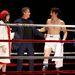 Margo Seibert, Sylvester Stallone és Andy Karl a ringben
