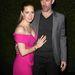 A színésznő férjével, Darren Le Gallóval
