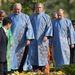 George Bush és Vlagyimir Putyin vietnámi népviseletben
