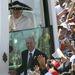 XVI. Benedek pápa egy mexikói kalapban
