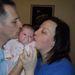 Karcsi és Niki kisbabájukkal