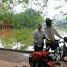Ez Hanoi, Vietnám fővárosa, amit az út során kétszer is érintettek