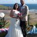 Steve és Katherine Turner esküvője 2011 augusztusában. Innen indultak a Verne-regénybe illő nászútra