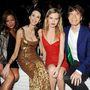 2013: nyári partit adott, balján Jade Jagger, jobbján Georgia May Jagger és Mick Jagger láthatók