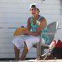 Austin Mahone a strandon