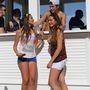 Austin Mahone és a csajok Miamiben a strandon