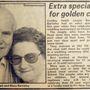 Barnsley-ék 1993-ban bekerültek a helyi újságba, mert akkor volt az aranylakodalmuk