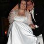 Kristy és Adam az esküvőn