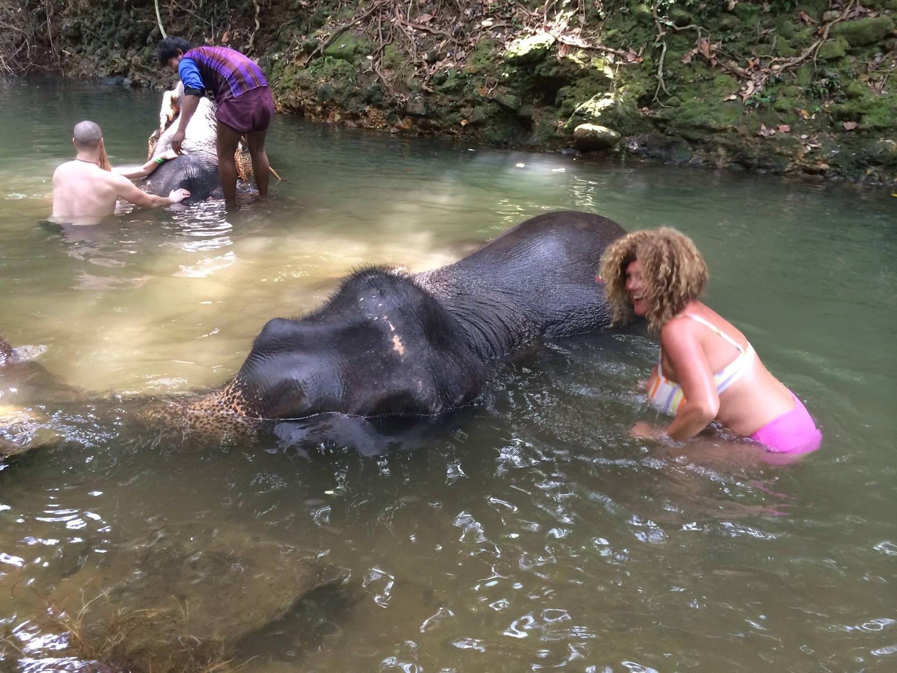 Soma Mamagésa és az elefánt